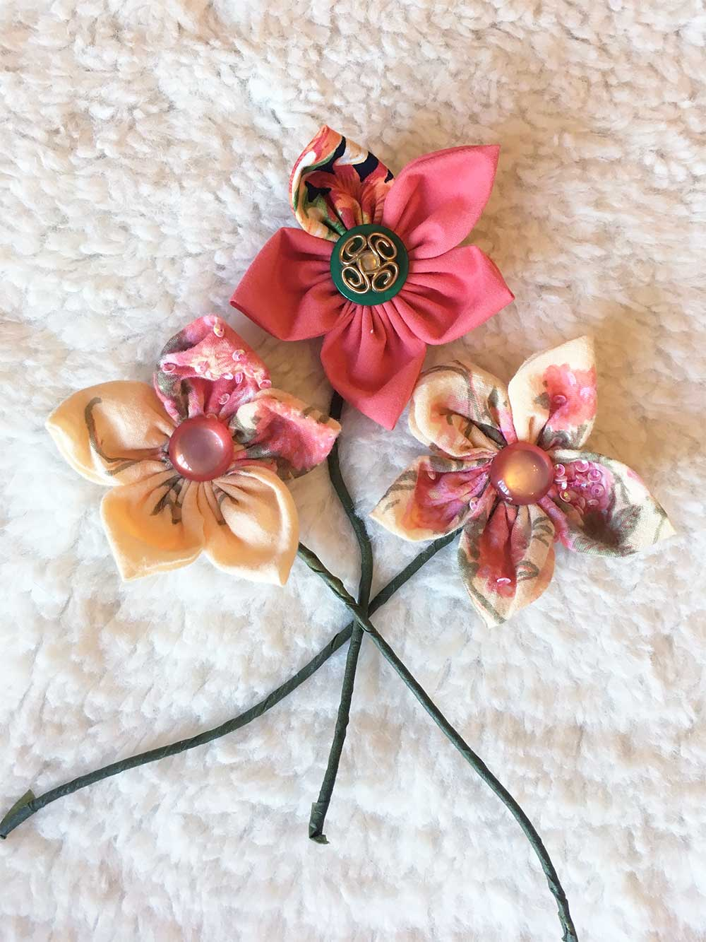 Ten Minute Make Fabric Flowers Closs Hamblin