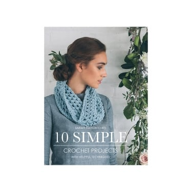 10 Simple Crochet Projects Book