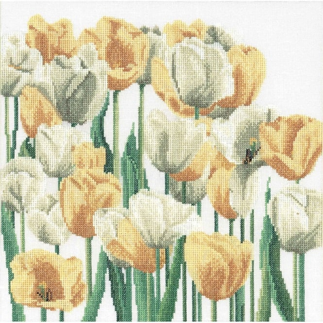 3065A Thea Gouverneur Tulips Cross Stitch Kit