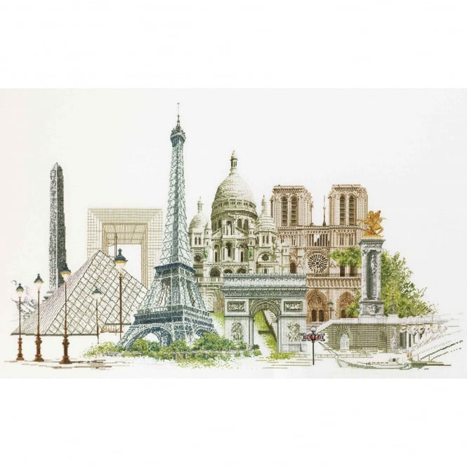 472A Thea Gouverneur Paris Cross Stitch Kit