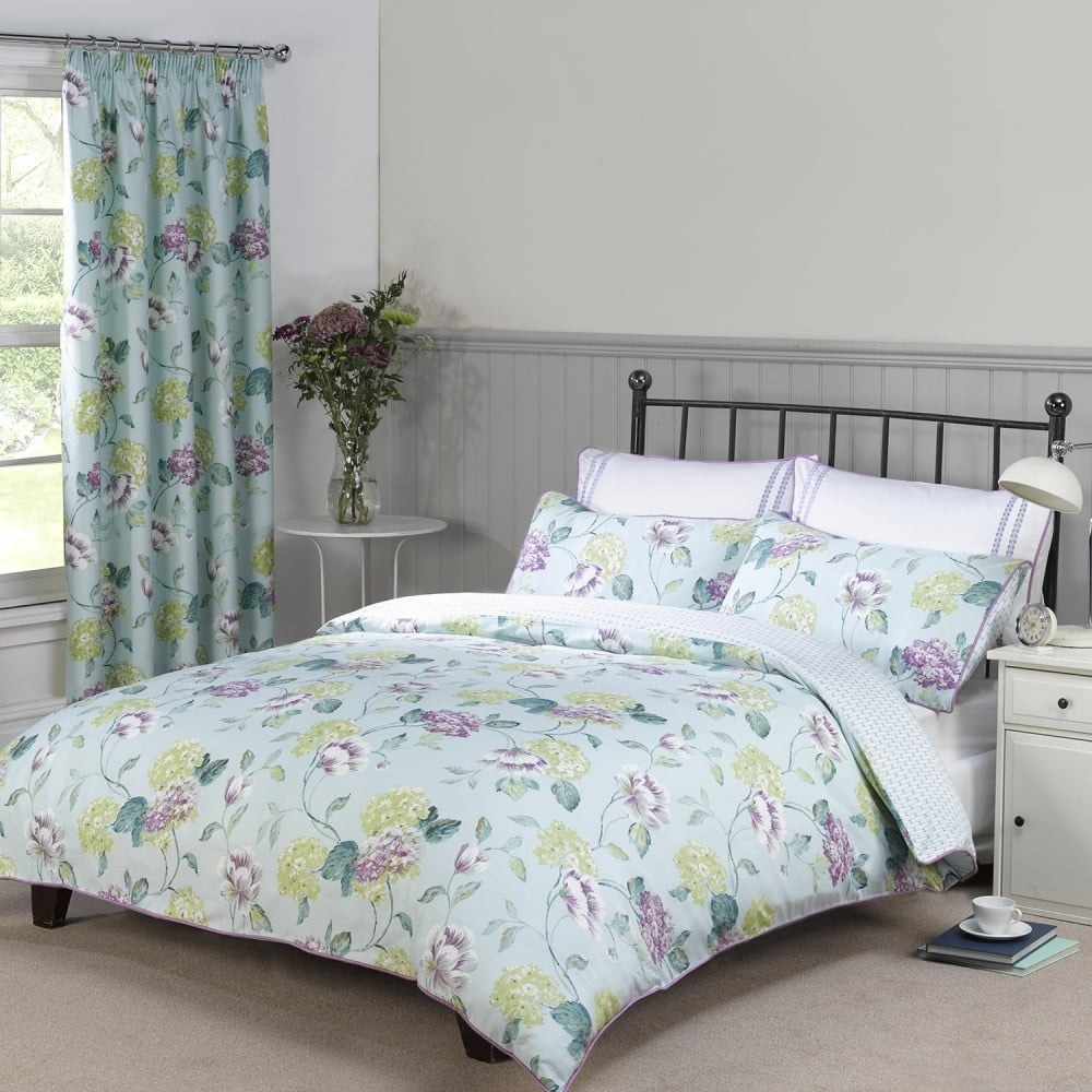 abigail duckegg super king duvet cover  closs  hamblin - abigail duckegg super king duvet cover