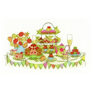 Afternoon Tea Party Stitch Kit