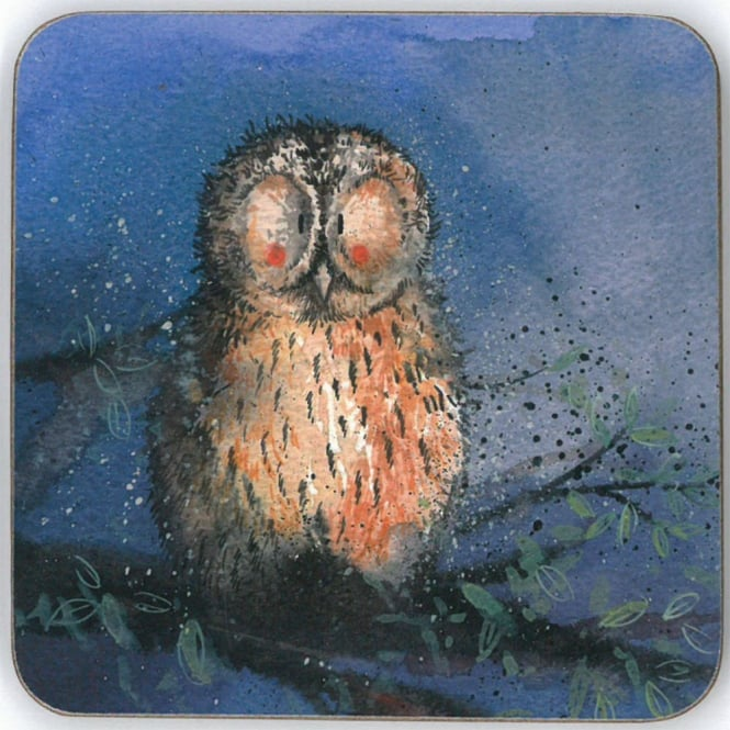 Alex Clark Night Owl Coaster