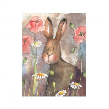 Alex Clark Small Chunky Notebooks Hare