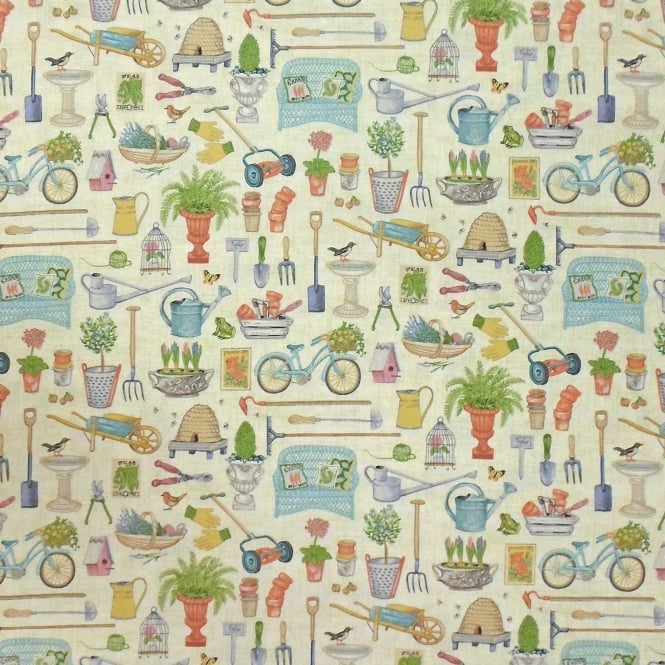 Antique Garden Cotton Multi