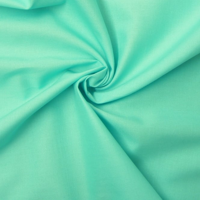 Aqua Plain Craft Cotton