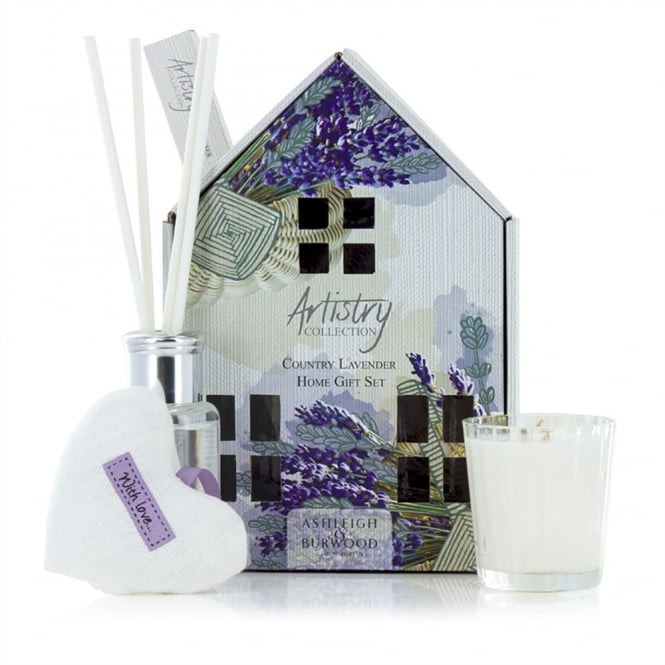 Artistry Collection Country Lavender Home Gift Set