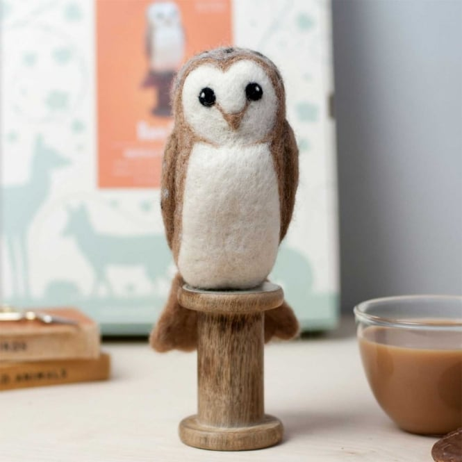 Barn Owl Felting Kit