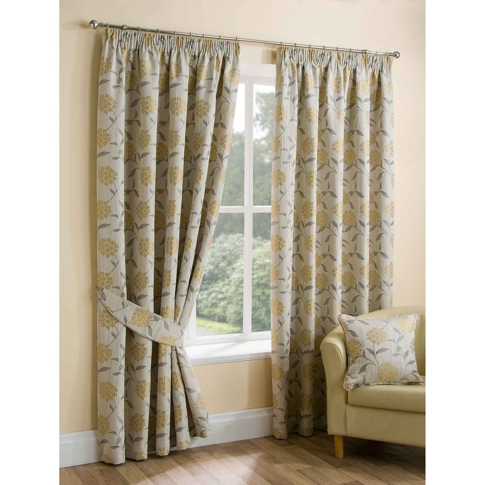 paloma ochre ready made curtains living room closs hamblin. Black Bedroom Furniture Sets. Home Design Ideas