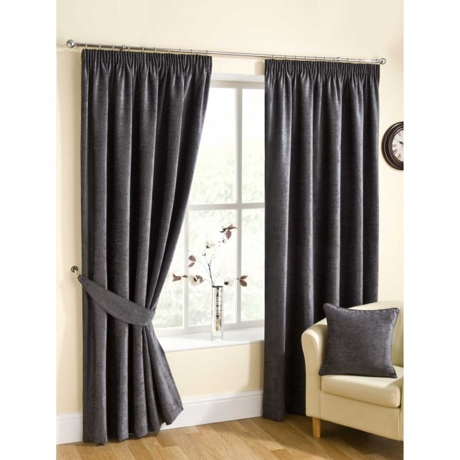Belfield Rico Pewter Grey Ready Made Curtains