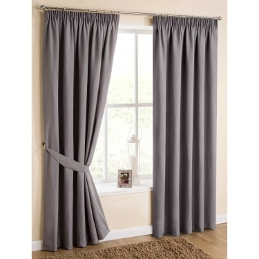 Urban Dove Grey Ready Made Curtains