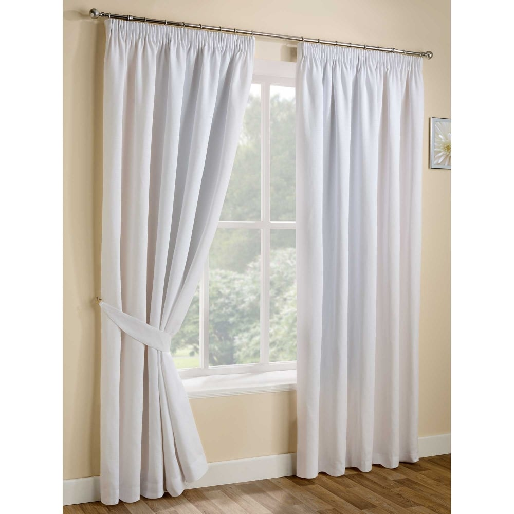 Urban White Ready Made Curtains Living Room Closs Amp Hamblin