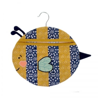 Billy Bee Shaped Peg Bag