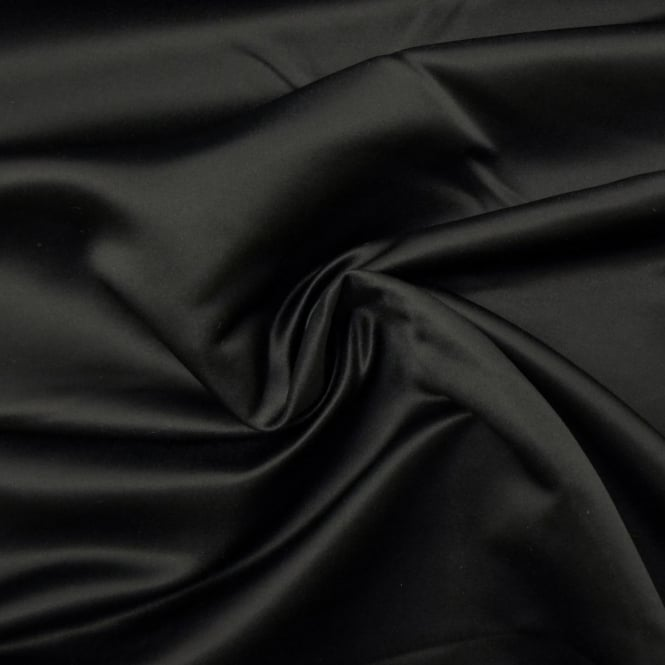 Black Royal Duchess Satin