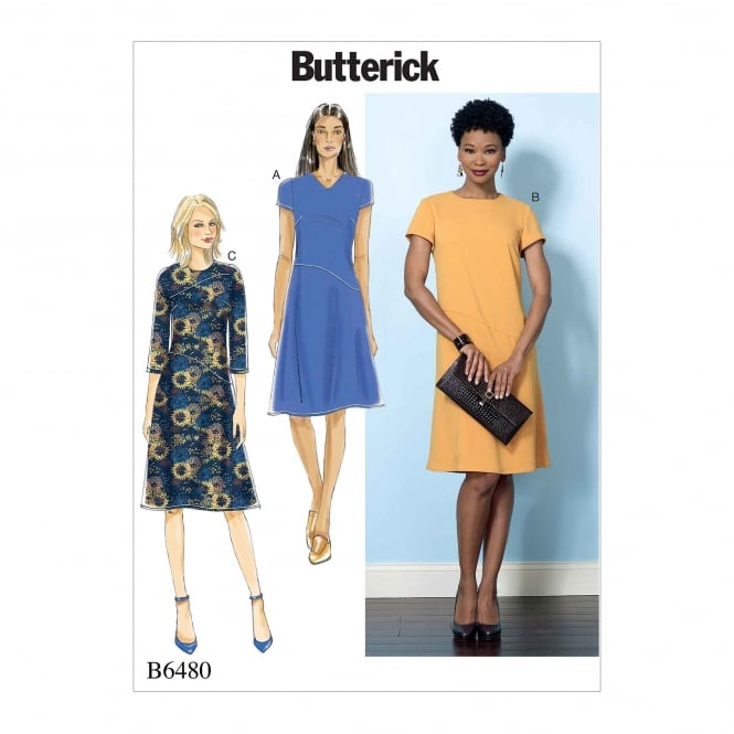Butterick Pattern 6480 - A5 Size 6 to 14