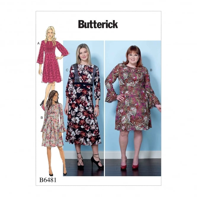 Butterick Pattern 6481 - B5 Size 8 to 16