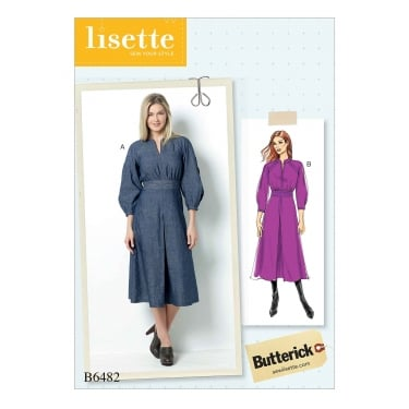 Butterick Pattern 6482 - A5 Size 6 to 14