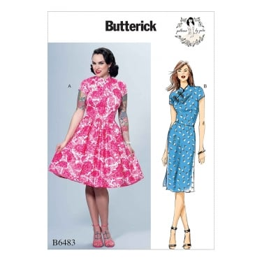 Butterick Pattern 6483 - A5 Size 6 to 14