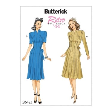 Butterick Pattern 6485 - A5 Size 6 to 14
