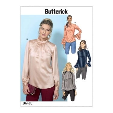 Butterick Pattern 6487 - A5 Size 6 to 14