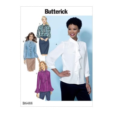 Butterick Pattern 6488 - A5 Size 6 to 14