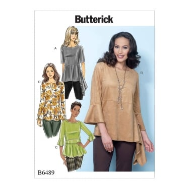 Butterick Pattern 6489 - Y Size XS to M