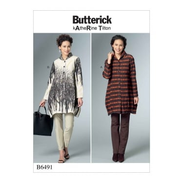 Butterick Pattern 6491 - Y Size XS to M