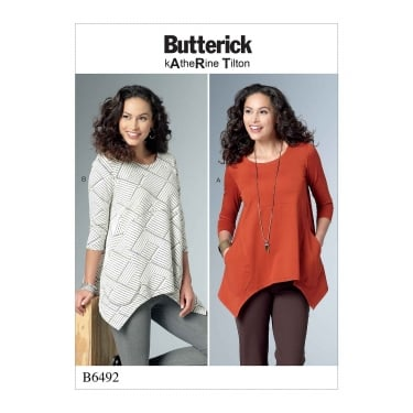 Butterick Pattern 6492 - Y Size XS to M