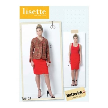 Butterick Pattern 6493 - A5 Size 6 to 14