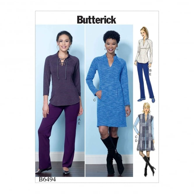 Butterick Pattern 6494 - A5 Size 6 to 14