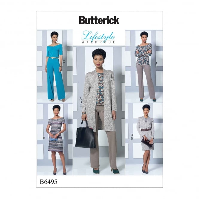 Butterick Pattern 6495 - Y Size XS to M