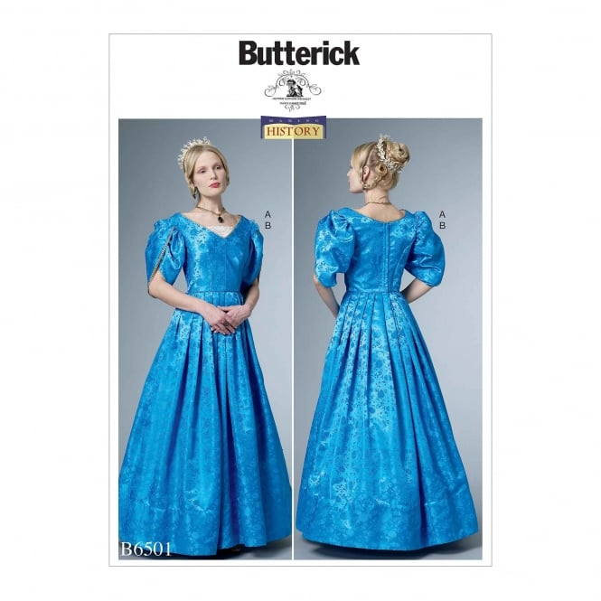Butterick Pattern 6501 - A5 Size 6 to 14