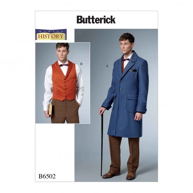 Butterick Pattern 6502 - MQQ Size 46 to 52