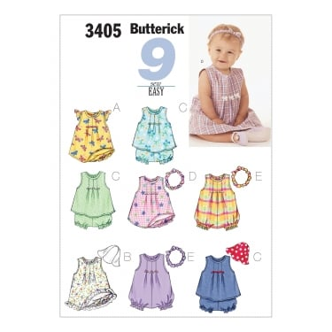 Butterick Sewing Pattern 3405