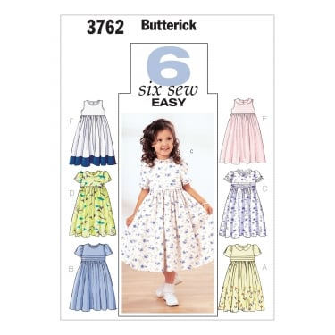Butterick Sewing Pattern 3762