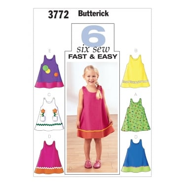Butterick Sewing Pattern 3772