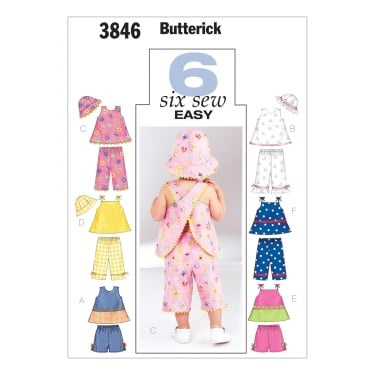 Butterick Sewing Pattern 3846