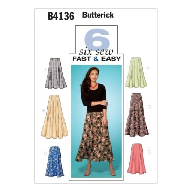 Butterick Sewing Pattern 4136