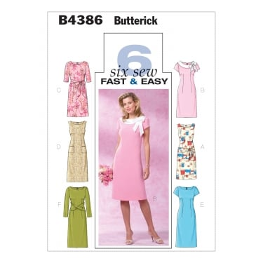Butterick Sewing Pattern 4386