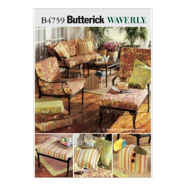 Butterick Sewing Pattern 4759 One Size