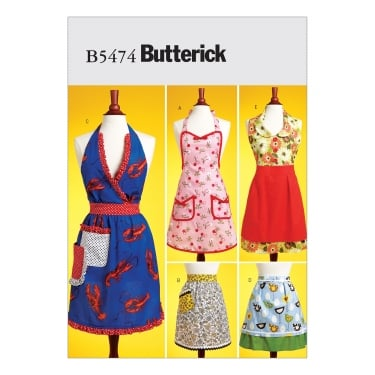 Butterick Sewing Pattern 5474 All Sizes