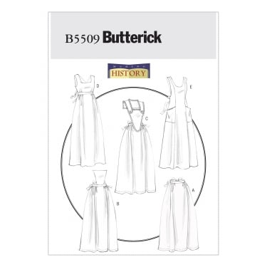 Butterick Sewing Pattern 5509 All Sizes