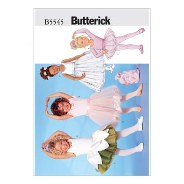 Butterick Sewing Pattern 5545 2 Size 2 - 5 Years