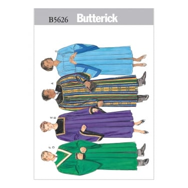 Butterick Sewing Pattern 5626 All Sizes