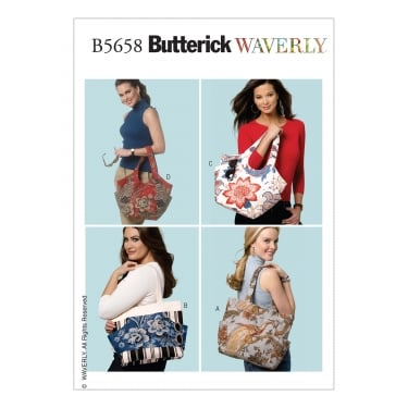 Butterick Sewing Pattern 5658 One Size