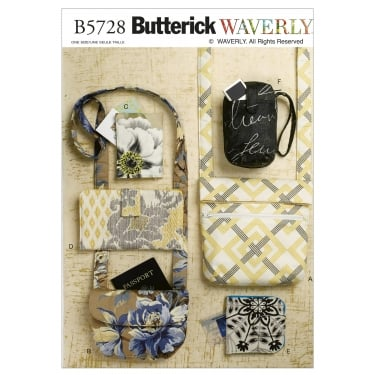 Butterick Sewing Pattern 5728 One Size