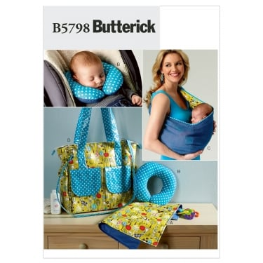 Butterick Sewing Pattern 5798 One Size