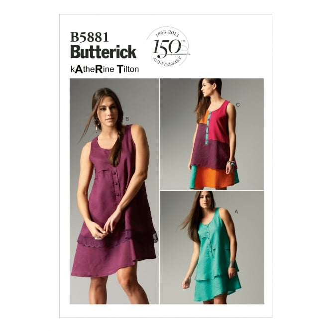 Butterick Sewing Pattern 5881 Size 8-16