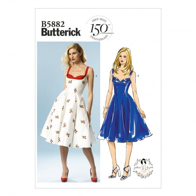 Butterick Sewing Pattern 5882 D5 Size 12 - 20