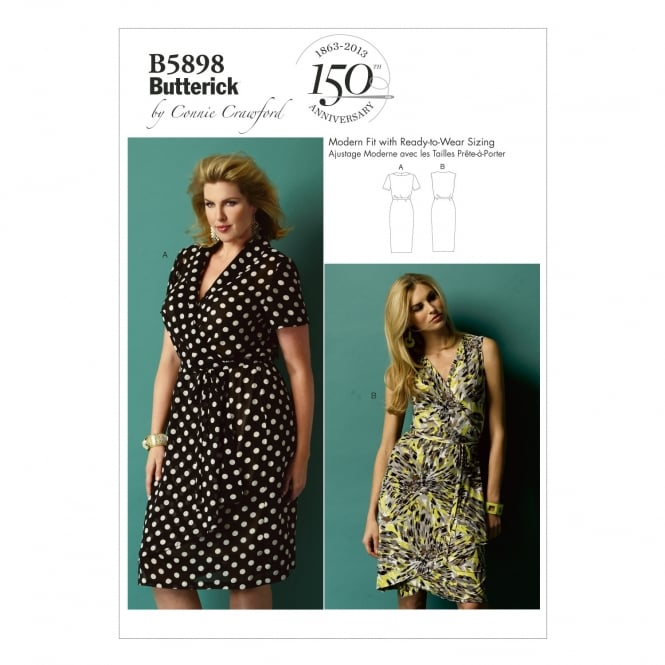 Butterick Sewing Pattern 5898 WMN Size XXL - 6X